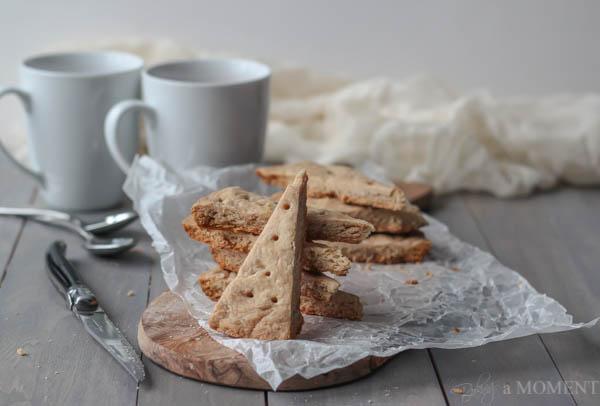 Chai Spiced Scotch Shortbread | Baking a Moment