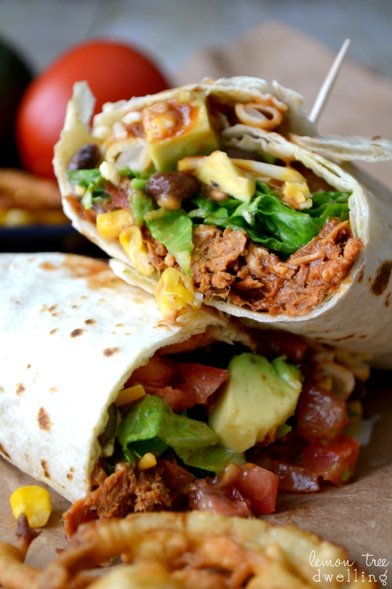 BBQ Ranch Chicken Wrap 3