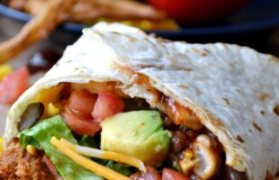 BBQ Ranch Chicken Wrap … a la Cheesecake Factory (she: Cathy)