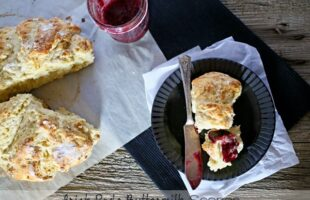Irish Soda Buttermilk Scones (she: Gina)