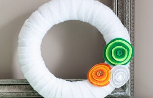Modern St. Patrick's Day Wreath (she: Anne)