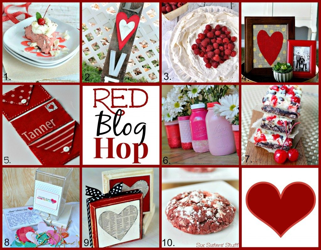 All About Red ~ 10 Awesome and Brand New Blogger Projects! www.orsoshesays.com