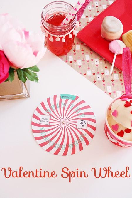 valentine spin wheel game