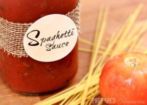 Killer Spaghetti Sauce Recipe (Make a Lot, Freeze the Rest) (she: Jamie)