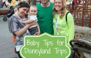 taking your baby to disneyland