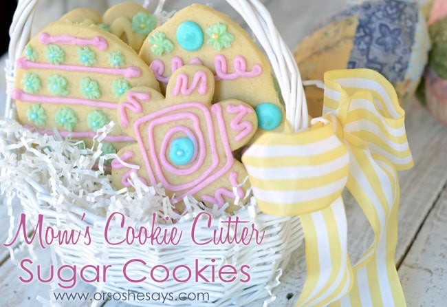 Cookie Cutter Sugar Cookies