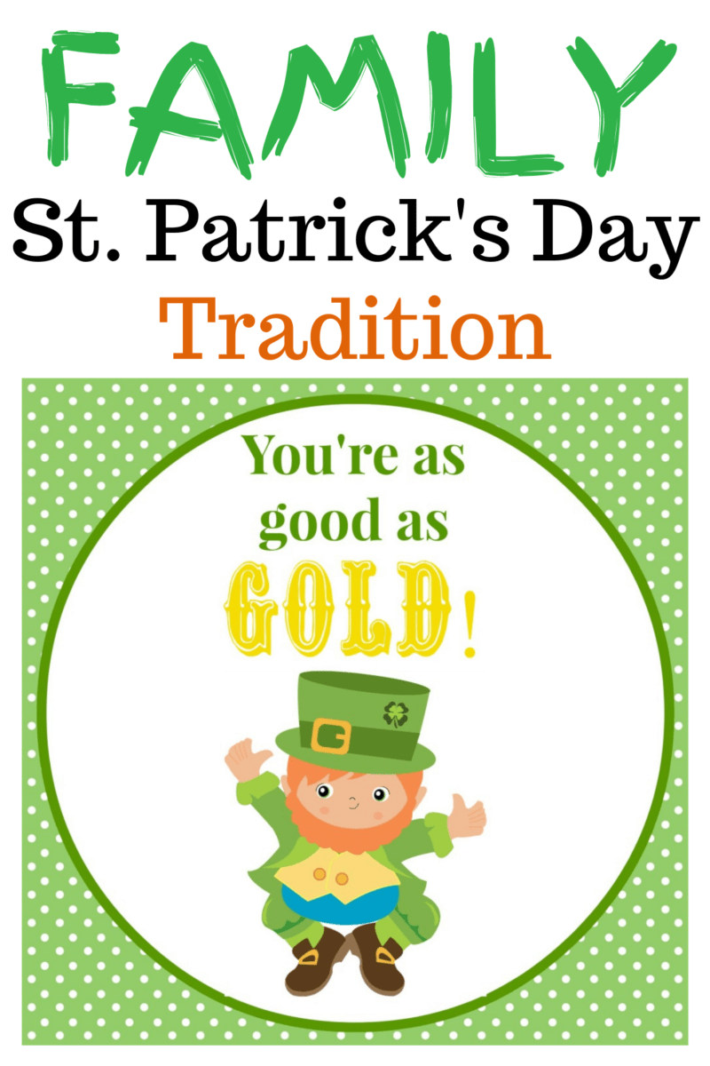 Family Tradition ~ St. Patrick's Day