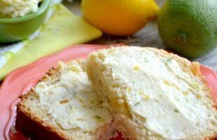 lemon-coconut quick bread