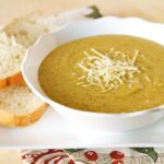 Panera Bread Broccoli Cheese Soup (copycat) by www.whatscookingwithruthie.com