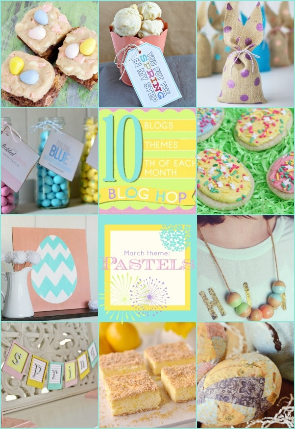 Pastel Spring projects and recipes