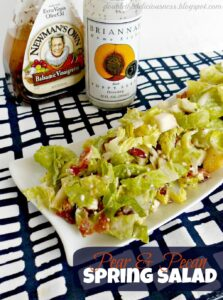 Pear and Pecan Spring Salad (she: Jana)