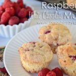 Raspberry White Chocolate Muffins www.orsoshesays.com