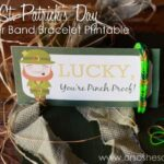 'Lucky, You're Pinch Proof' St. Patrick's Day Printable