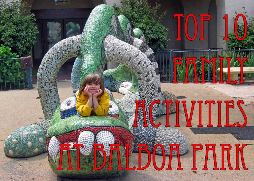 attractions for families at balboa park