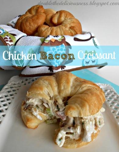 chicken bacon croissant