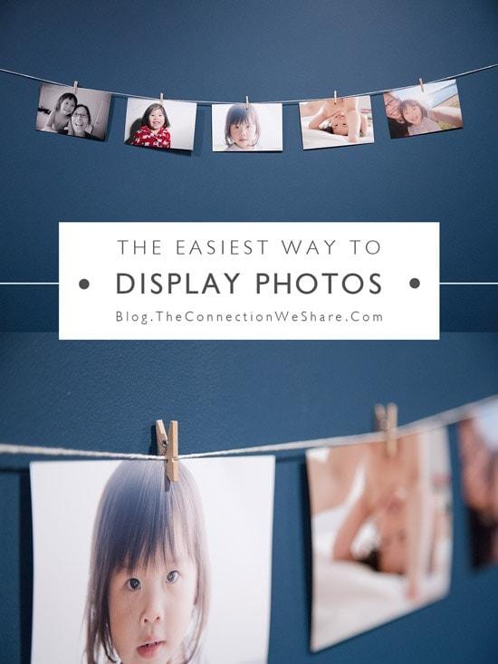 easiest way to display photos