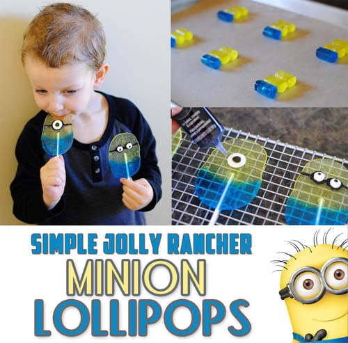 minion lollipop