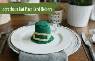Leprechaun Hat Place Card Holder (she: Darleen)