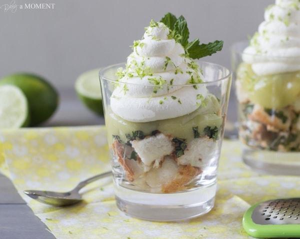 Mojito Trifles | Baking a Moment