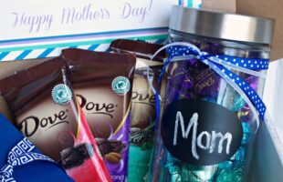 Unique Mother's Day Gift ~ Featuring DOVE® Dark Chocolate!!