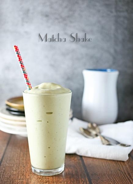 Matcha Shake from Gina @ Kleinworth & Co.