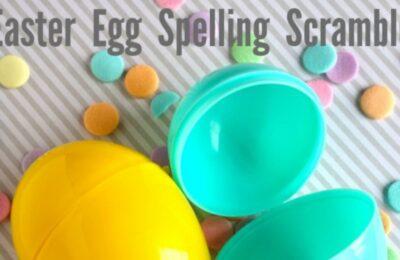 Fun Easter Egg Spelling Scramble for #Easter morning. www.orsoshesays.com #games