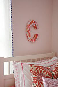 Personalized Initial Letter Art (she: Darleen)