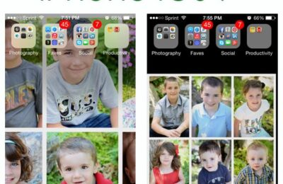 How to resize wallpaper on iphone