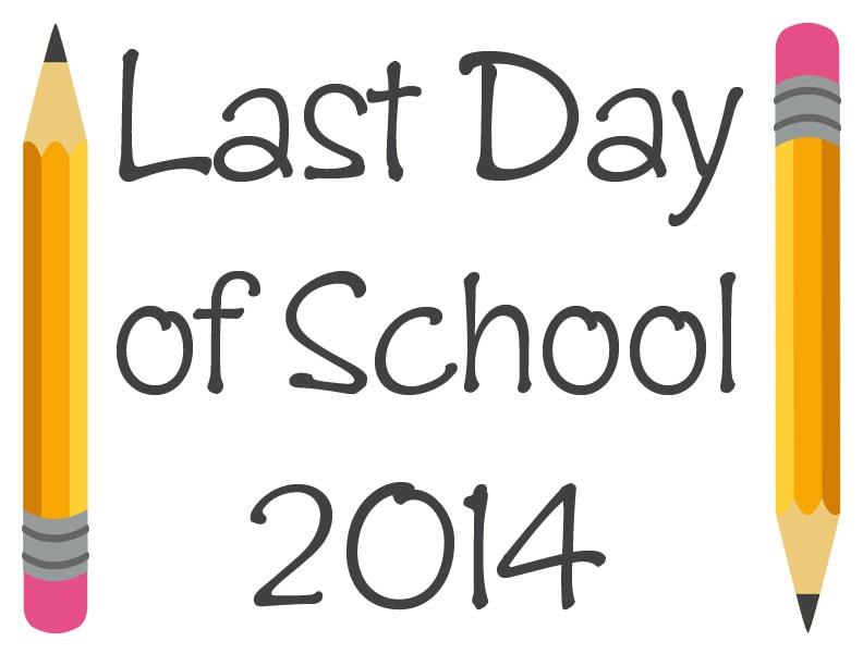 Last Day of School Printable