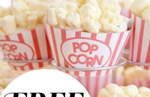 Cupcake Popcorn Wrapper Free Download (she: Sharon)