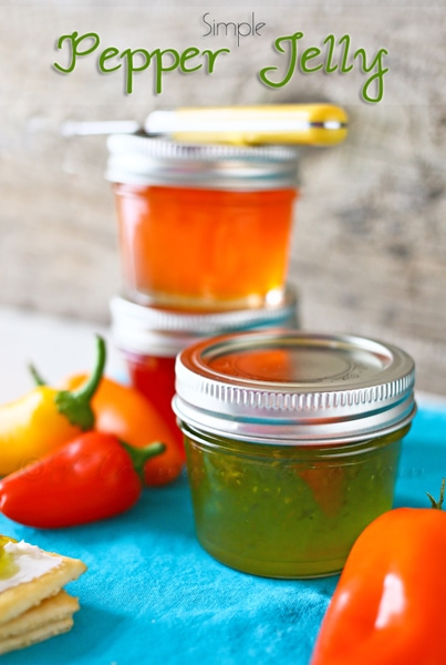 Simple Pepper Jelly from Kleinworth & Co.