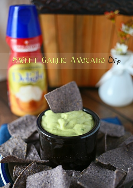 Sweet Garlic Avocado Dip from Kleinworth & Co.