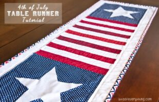Patriotic Table Runner Tutorial
