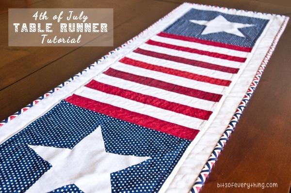 patriotic Table-Runner-Tutorial