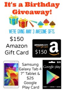 Galaxy Tablet Giveaway!