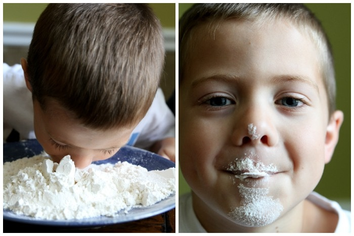 flour-on-face-family-game