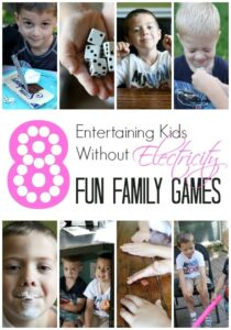 Entertaining Kids Without Electronics: 8 Family Games They Will Love (she: Jamie)