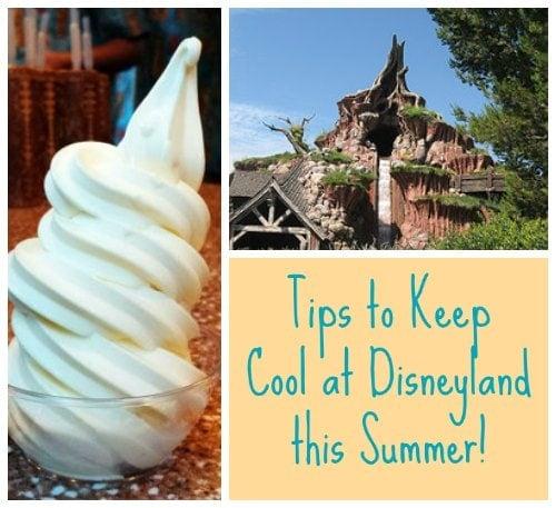 Tips to Keep Cool at Disneyland