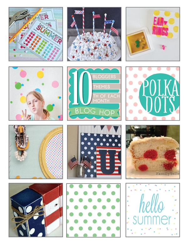 Polka Dots Theme 10 for 10 Roundup
