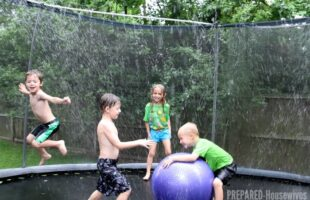 Trampoline Water Park… A Cool Way to Beat the Heat! (she: Jamie)