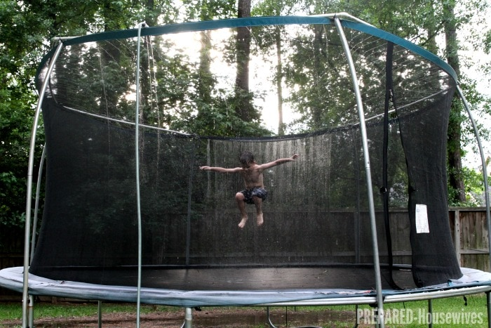 trampoline-with-pvc-pipe-sprinklers
