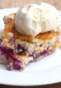 Blackberry Cobbler… The Perfect Summery Dessert (she: Maria)