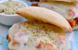 gnocchi marinara sandwich