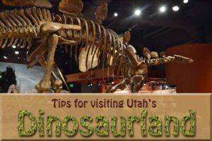 Tips for Visiting Utah's Dinosaurland in Vernal (she: Allison)