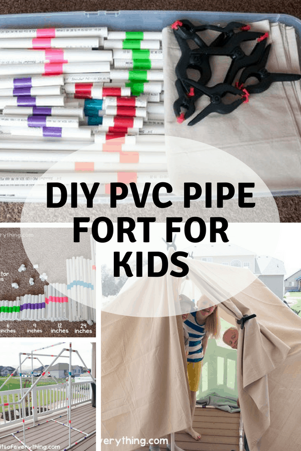Diy fort kit for indoor or outdoor use that kids will love besides making a kit for yourself you could even make them or have the kids make them to sell mariel did some fun booths at their local fourth of july solutioingenieria Choice Image