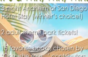 Favorite Books and California Vacation Giveaway!