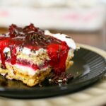 Cherry Pie Ice Box Cake from Gina @ kleinworthco.com