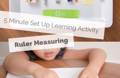 Educational Ruler Activity for Kids