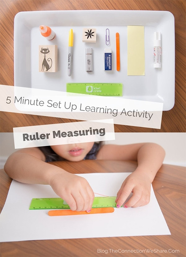 Educational Ruler Activity for Kids