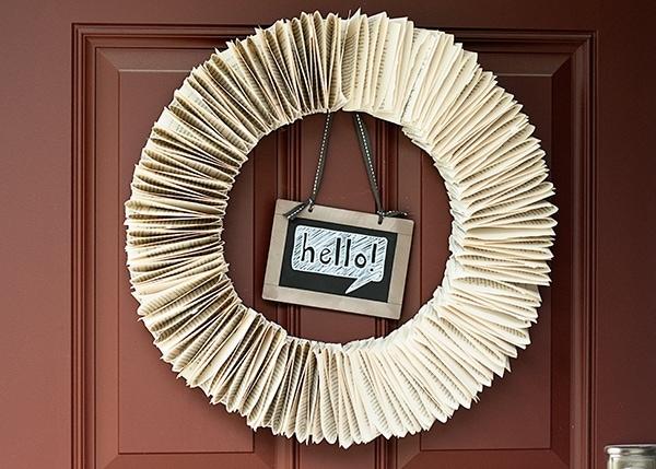 Bookpage-Wreath-DIY